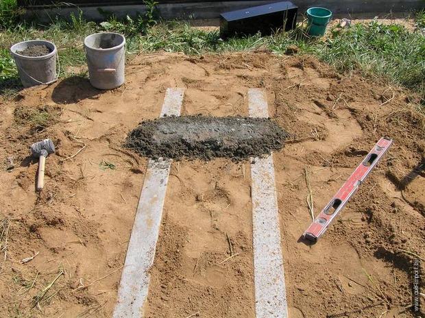 Как правильно установить памятник на могилу своими